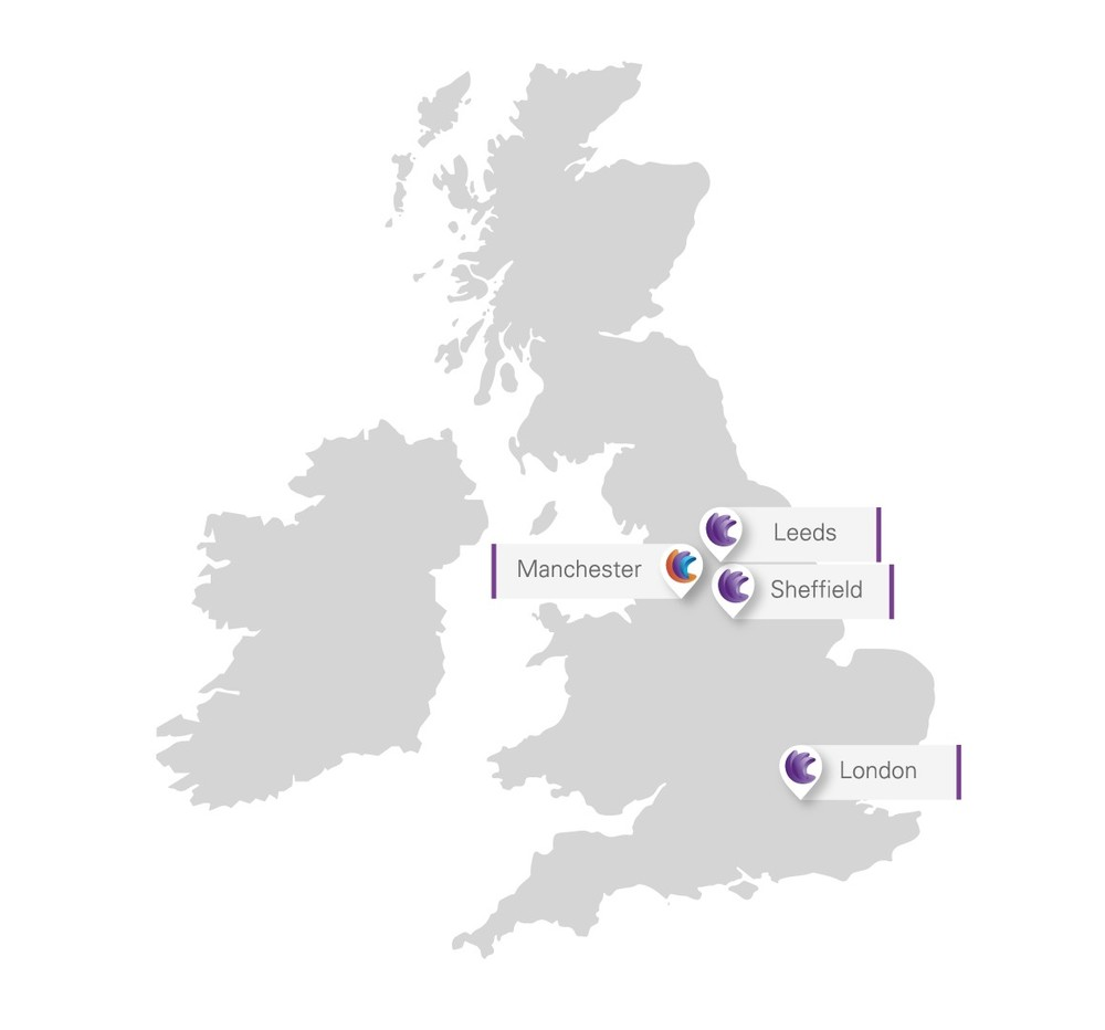 FHP and Trebbi offices across the UK